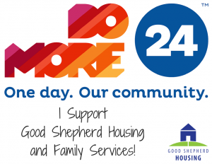 I Support Good Shepherd Housing & Family Services