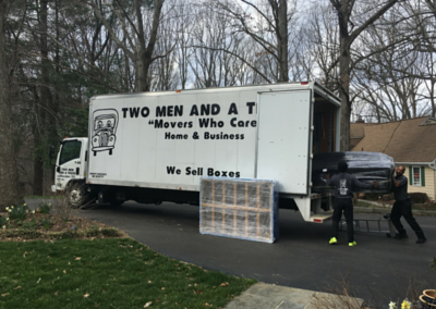 """Movers Who Care"" Help Two Families in Need"