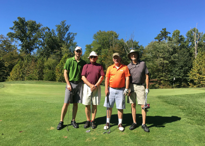 Great Weather Made for a Great Golf Outing
