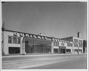 The original Ourisman dealership at 6th and History NE, Washington, D.C.